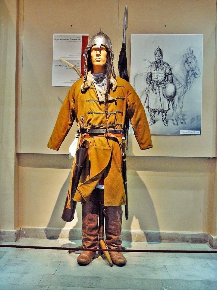 Болгарский воин